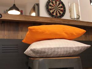 Coussins, dessus de lit & plaids